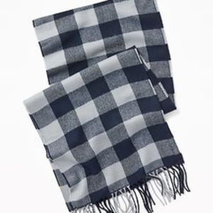 Old Navy Patterned Flannel Scarf New